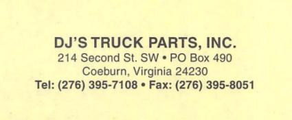 DJ'S Truck Parts Inc.